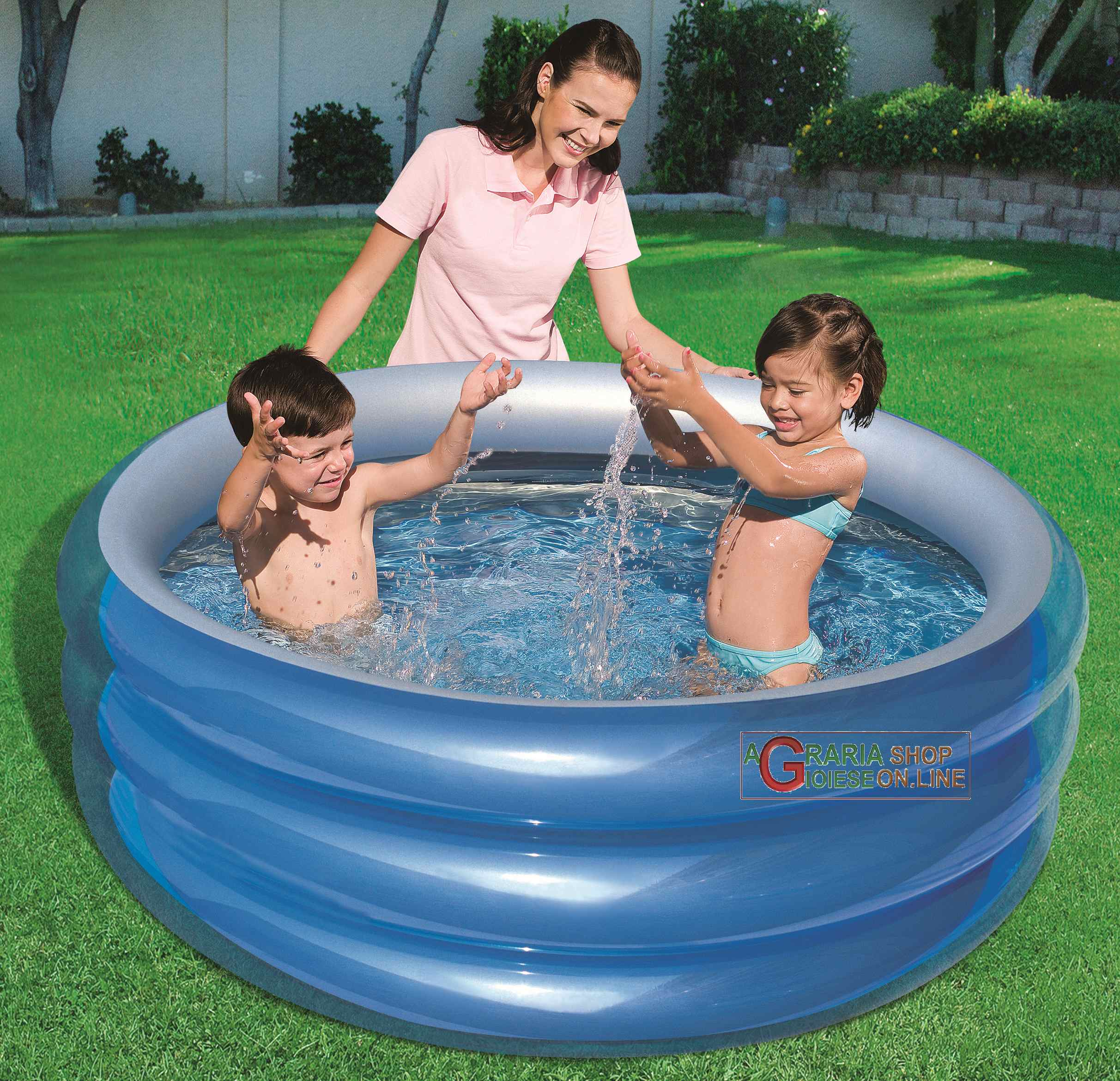 Bestway Piscinas Bestway 51041b Pool Round Blue For Children Cm 150x53h Antonio De Caria