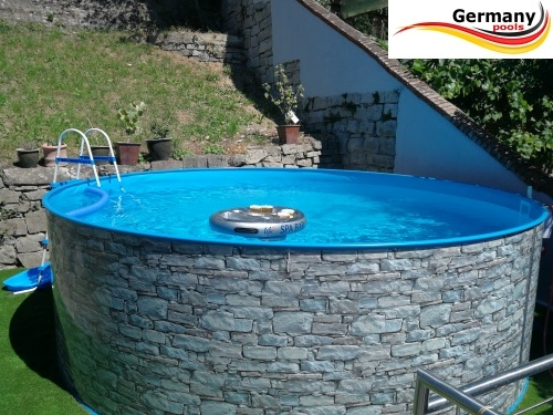 Gartenpool 4 6 X 1 2 Stone Pool Stein Optik Shop Pool