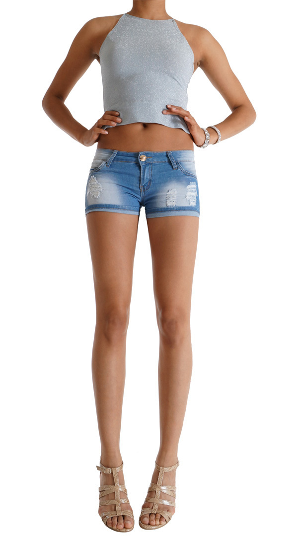 Hotpant Jeans 62nd Avenue - Berlin Ladies Fashion - Jeans Hotpants