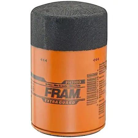 Fram Extra Guard Oil Filter PH3980 Advance Auto Parts