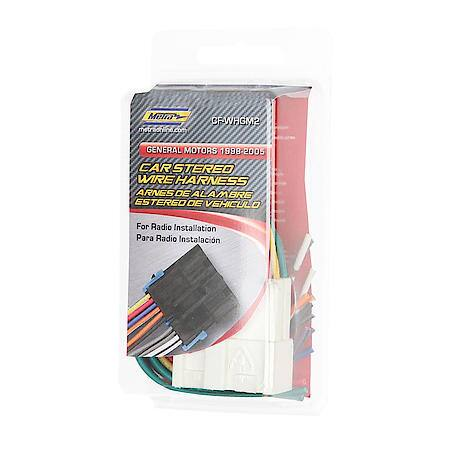 Metra Electronics GM 88 -05 Wire Harness CF-WHGM2 Advance Auto Parts