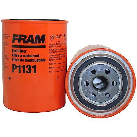 Fram Fuel Filter, Secondary Spin-on P1131 Advance Auto Parts