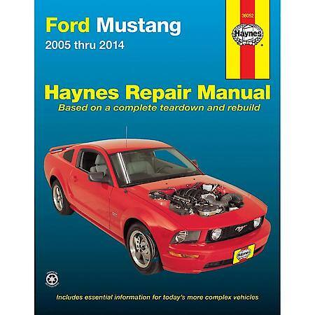 Haynes Ford Mustang (05-14) Haynes Repair Manual 36052 Advance Auto