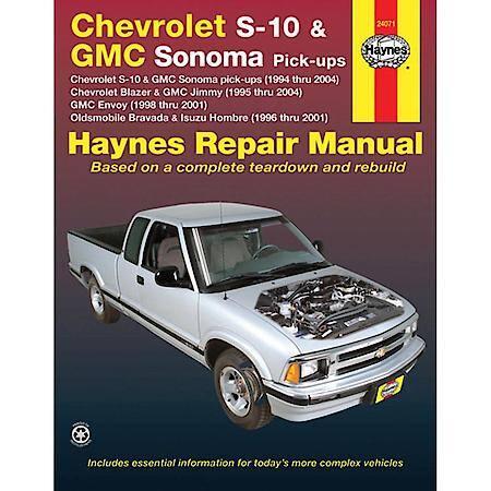 Haynes Chevrolet S-10  GMC Sonoma pick-ups (94-04) Haynes Repair