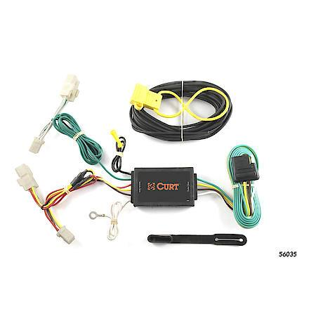 Curt Custom Vehicle-to-Trailer Wiring Harness 56035 Advance Auto Parts