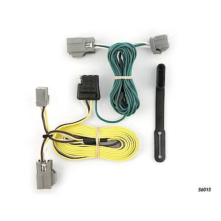 Curt Custom Vehicle-to-Trailer Wiring Harness 56015 Advance Auto Parts