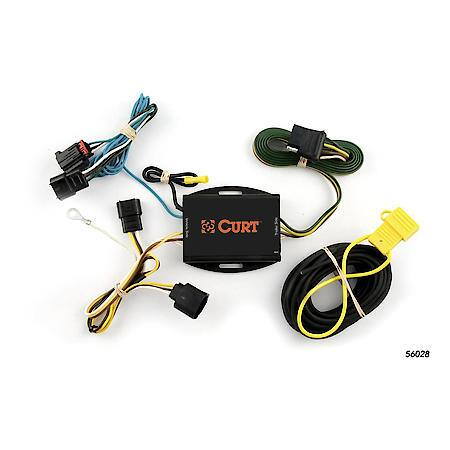 Curt Custom Vehicle-to-Trailer Wiring Harness 56028 Advance Auto Parts