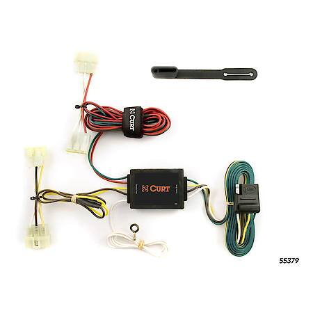Curt Custom Vehicle-to-Trailer Wiring Harness 55379 Advance Auto Parts