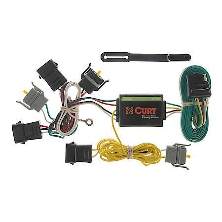 Curt Custom Vehicle-to-Trailer Wiring Harness 55343 Advance Auto Parts