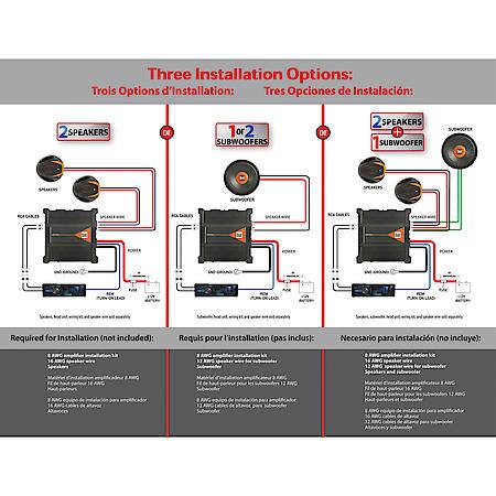 Dual Electronics 600 Watt 2/1 Channel Class AB MOSFET Powered