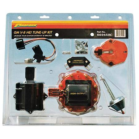 Proform Gm Hei Distributor Tune-Up Kit, Red Cap 66945RC Advance