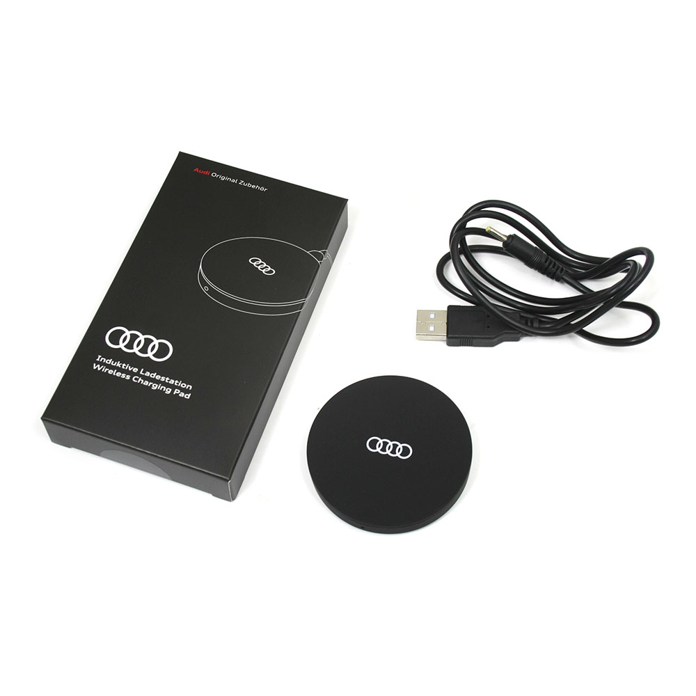 Handy Ladeschale Original Audi Induktive Ladestation Wireless Charging Pad Smartphone Qi Standard