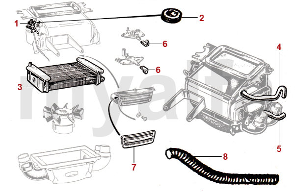 Alfa Romeo Spider Engine Assembly Diagram Index listing of wiring
