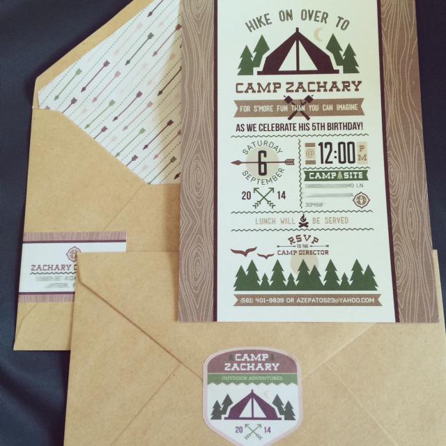 free printable camping invitations - Josemulinohouse - free printable camping invitations