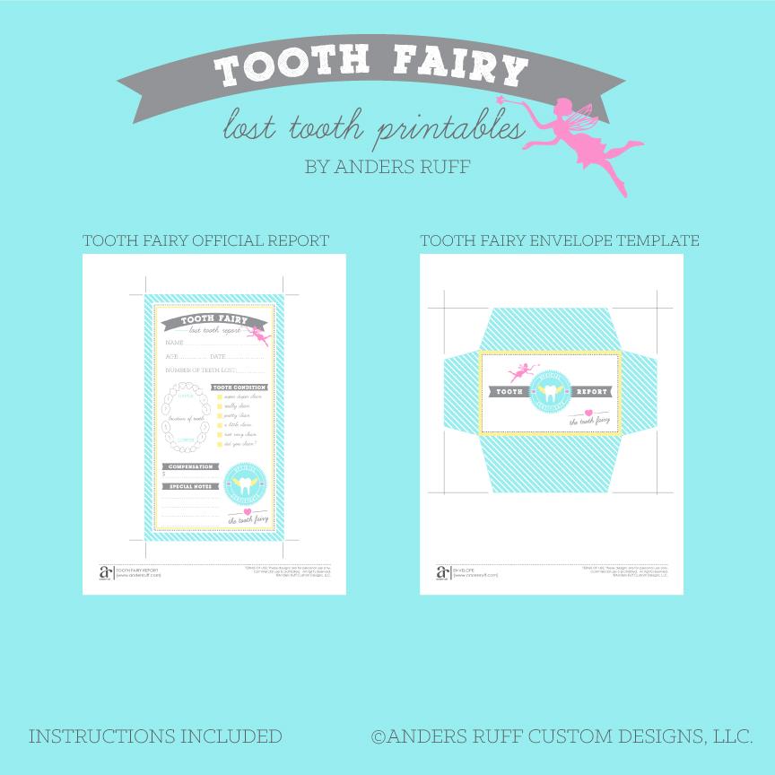 Tooth Fairy Printablesprintable tooth fairy notes ⋆ handmade
