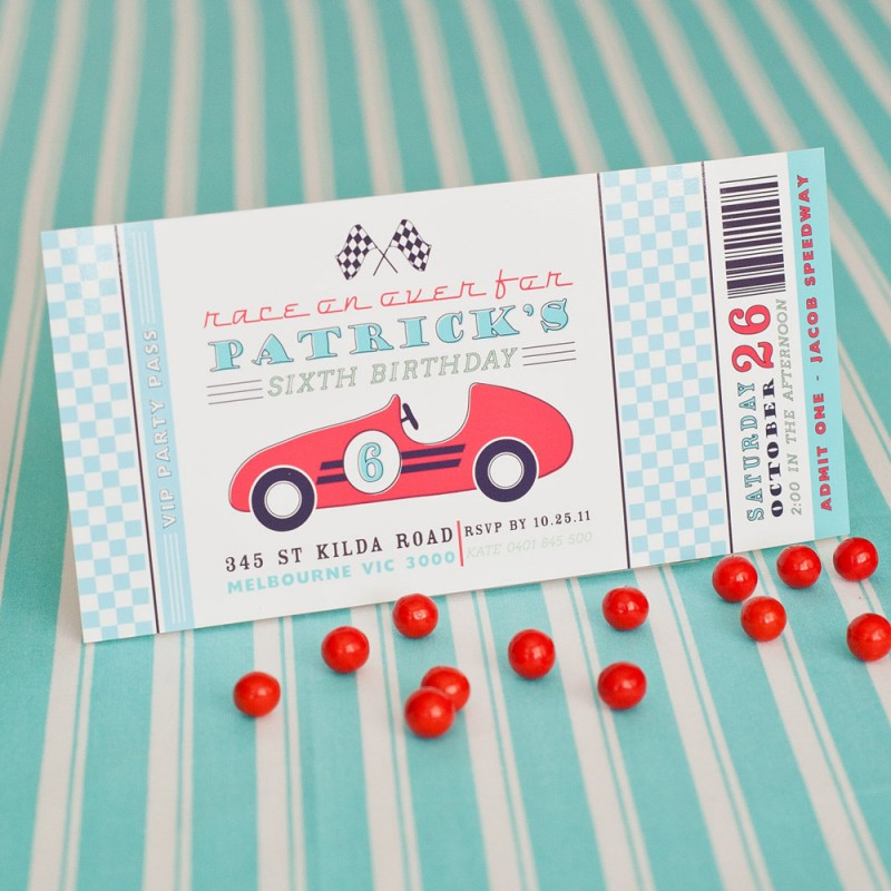 Candy Buffet Table Label Printable Boy - Race Car Birthday Party - download free baby shower invitations