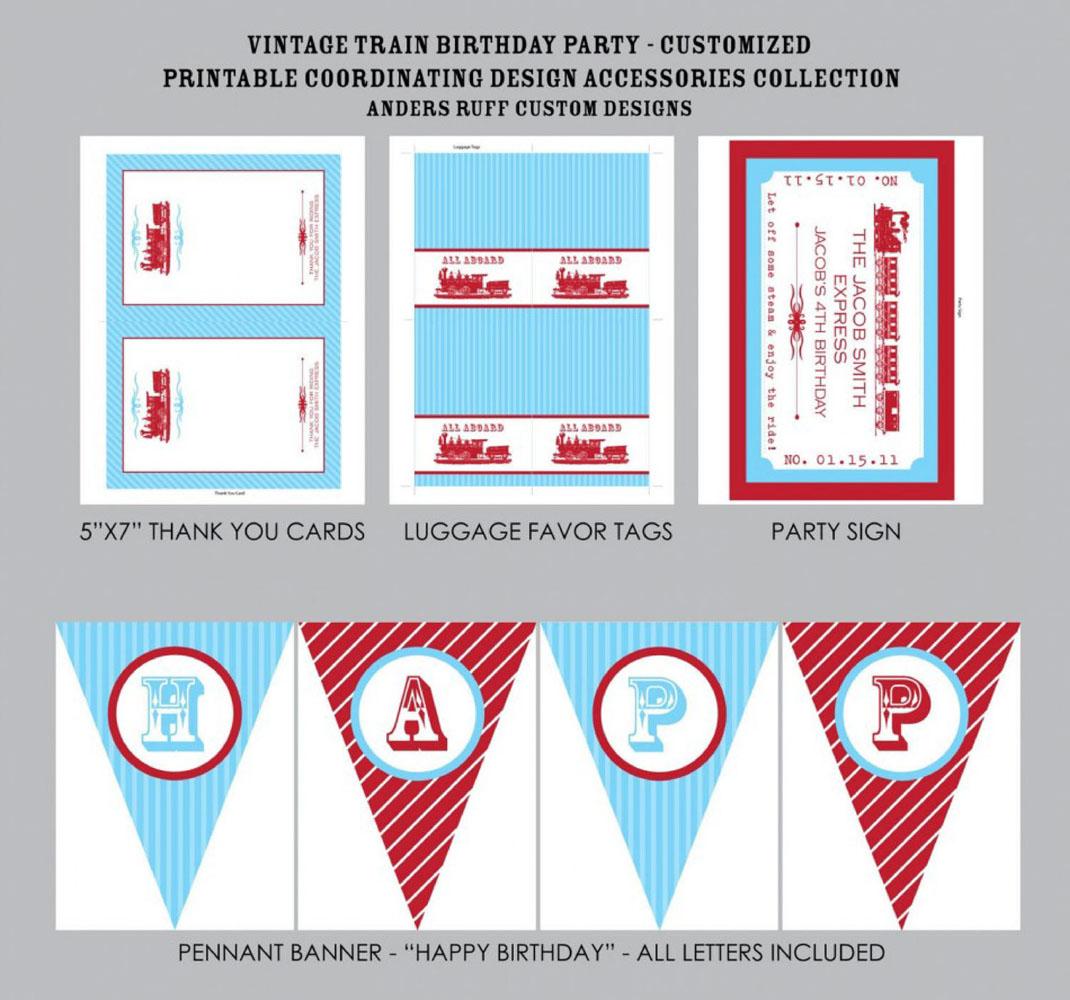 Train Ticket Invitation Template Free u2013 orderecigsjuiceinfo - printable ticket invitations