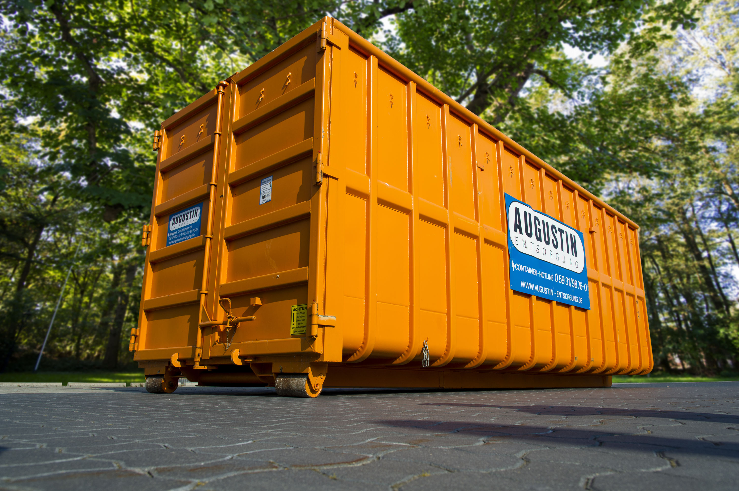 Sperrmüll Oldenburg Abrollcontainer 40m³