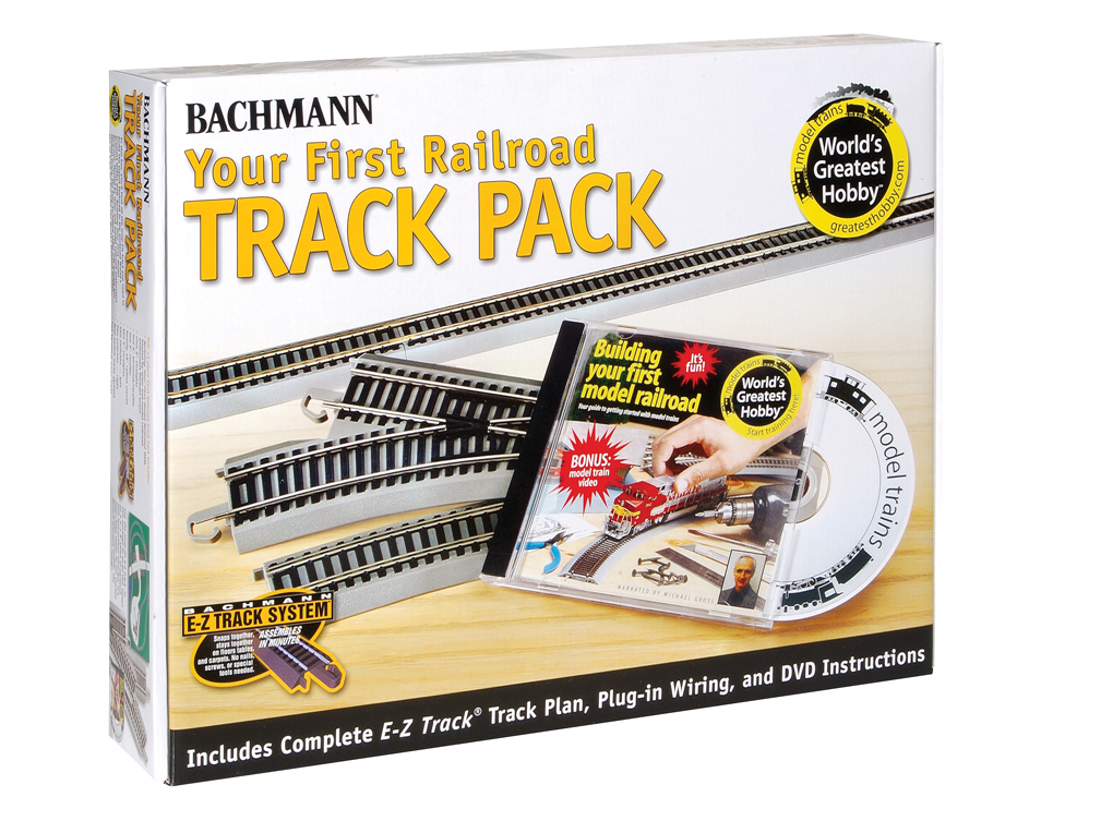 Nickel Silver First Railroad Track Pack (HO Scale) 44596 - $29900