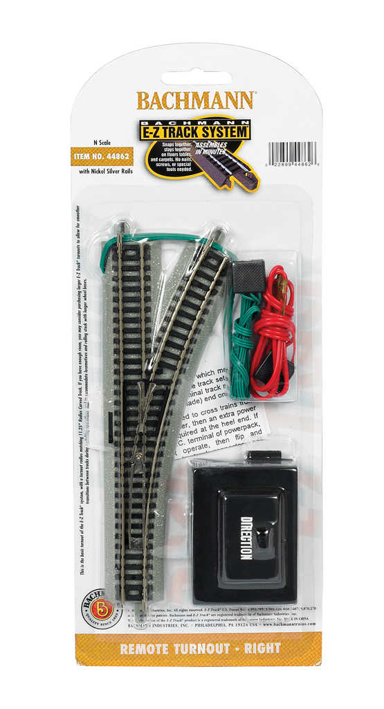 Remote Turnout - Right (N Scale) 44862 - $4300  Bachmann Trains