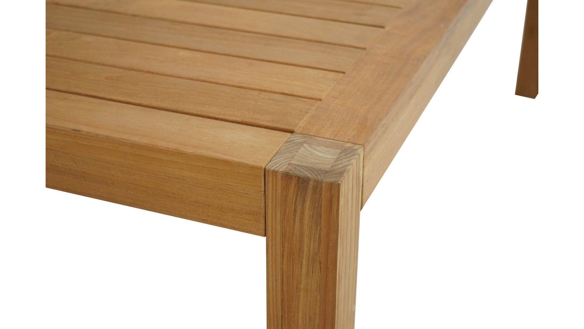 Gartentisch Holz 200 X 100 Bernstein Granit Esstisch 200x100 Cm