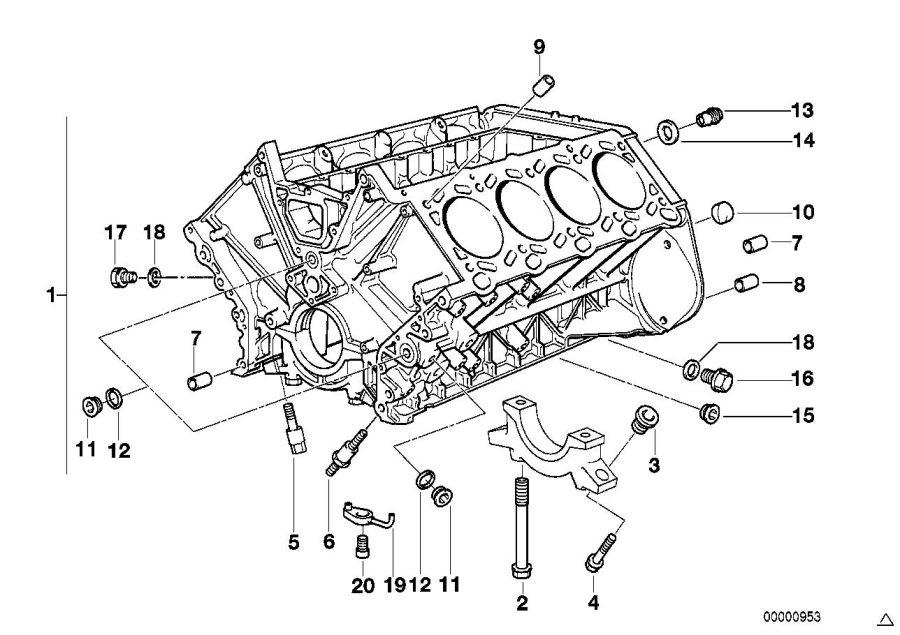 m62 engine diagram