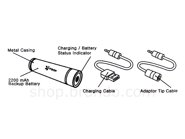 mobile phone and ipod battery charger