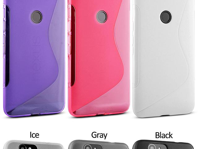 Google Nexus 6p Wave Plastic Back Case