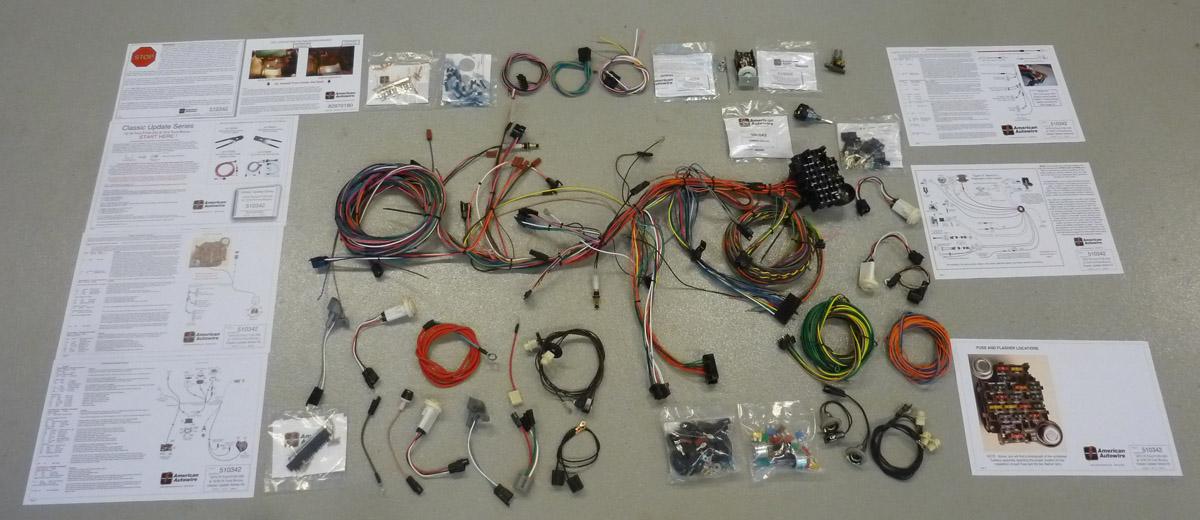 73-79 Ford Truck American Auto Wire Complete Rewire Kit