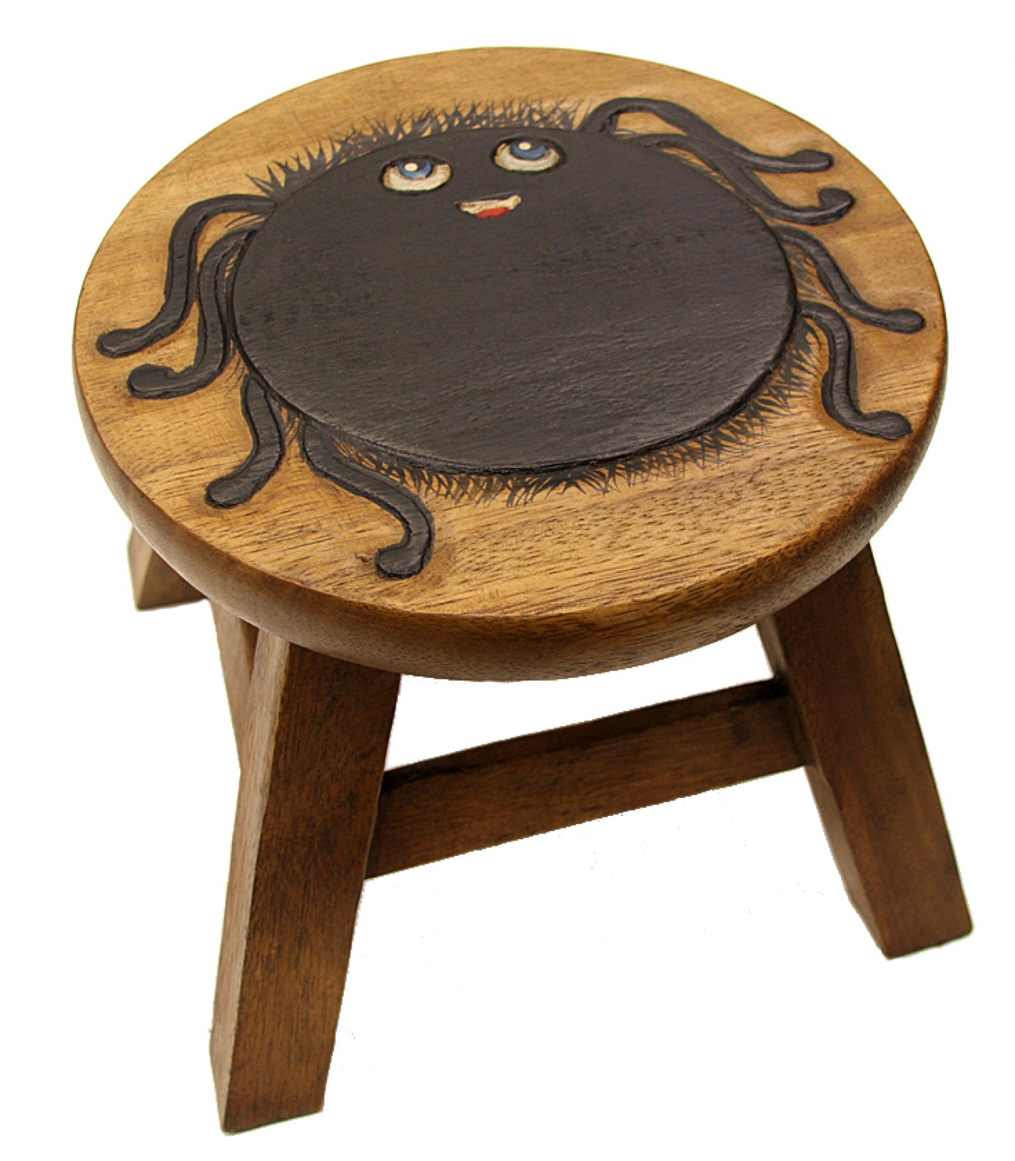 Kids Wooden Stool Kids Wooden Stool Spider Cancer Research Uk Online Shop