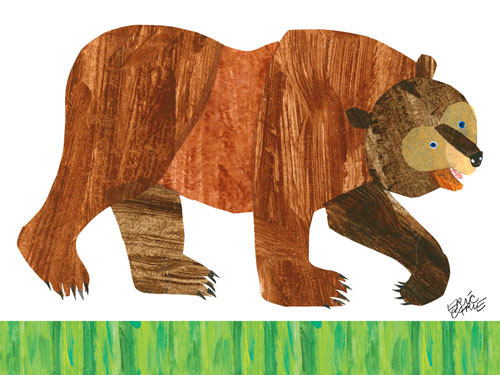 Brown Bear The Eric Carle Museum of Picture Book Art