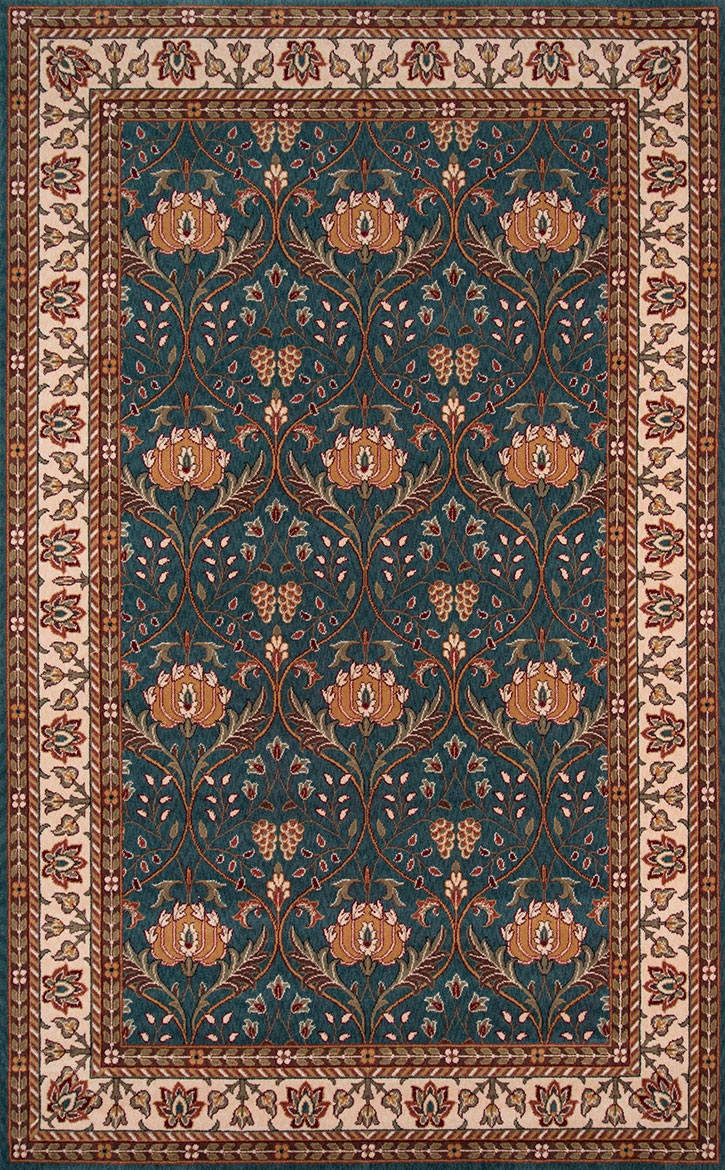 Teal Color Area Rugs Momeni Persian Garden Pg 12 Teal Blue Area Rug Carpetmart