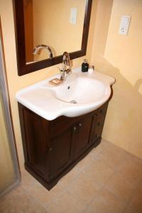 Italienische Badmbel Badezimmermbel braun nussbaum holz ...