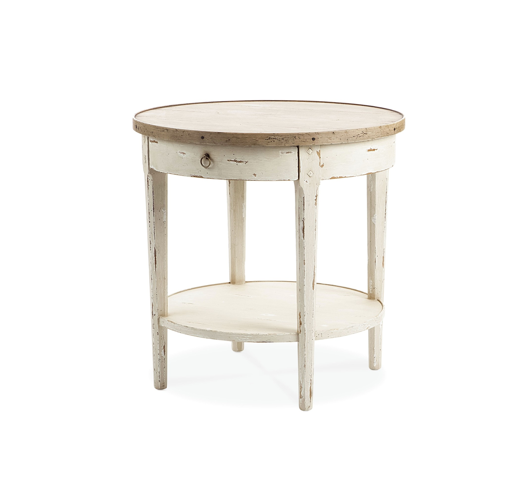 Circular End Tables Hannah Round End Table