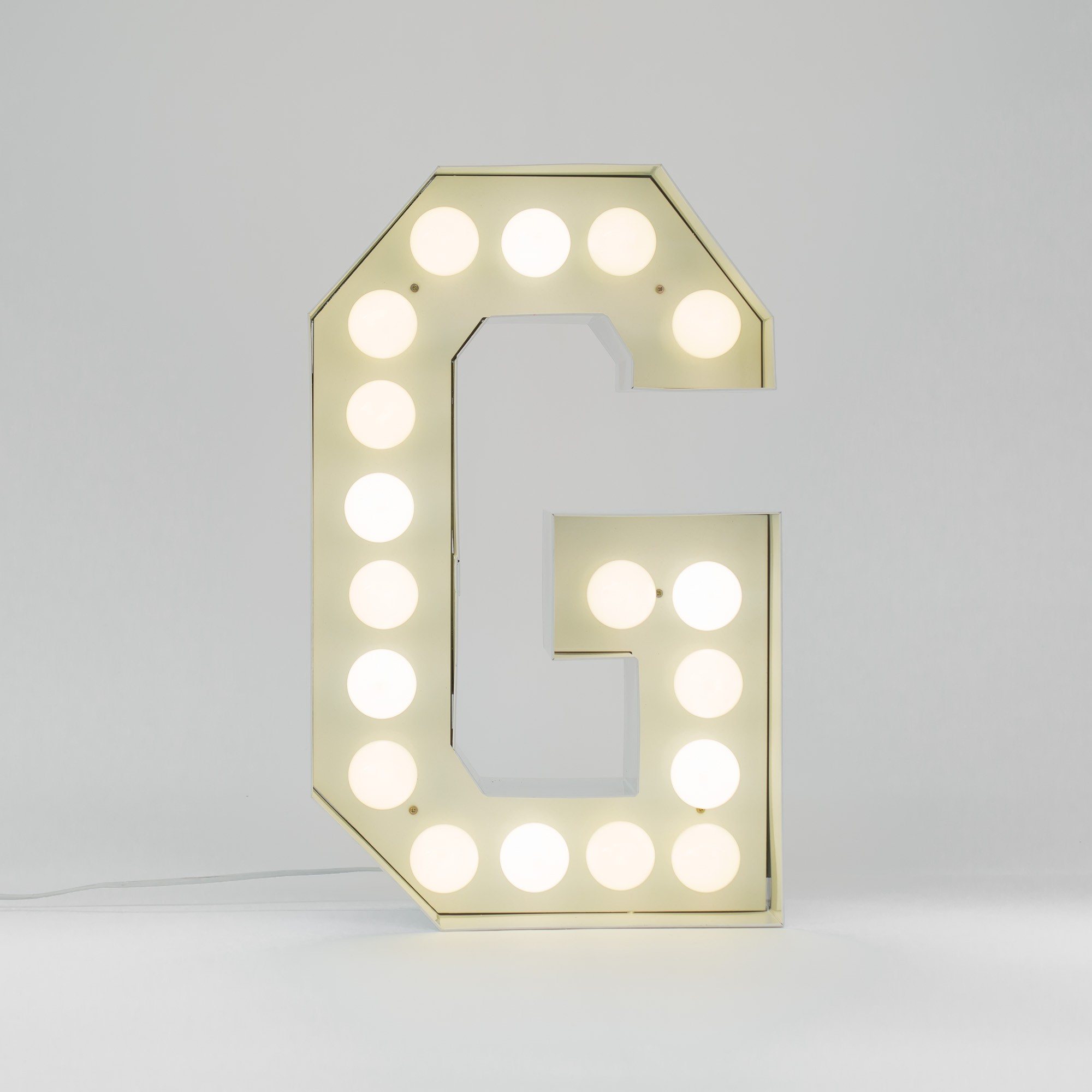 Lettere Luminose Seletti Seletti Vegaz G Lettera Luminosa Led Che Luce Lighting Project