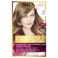 Buy l'oreal paris excellence hair colour dark ash blonde 7
