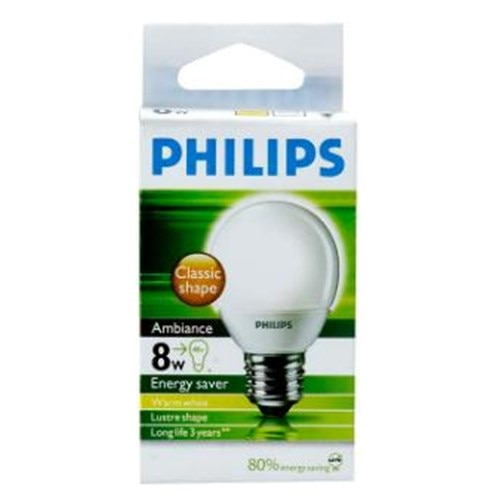 Philips Lamp Nz Buy Philips Ambiance Light Bulb Screw 8w Energy Saver Warm