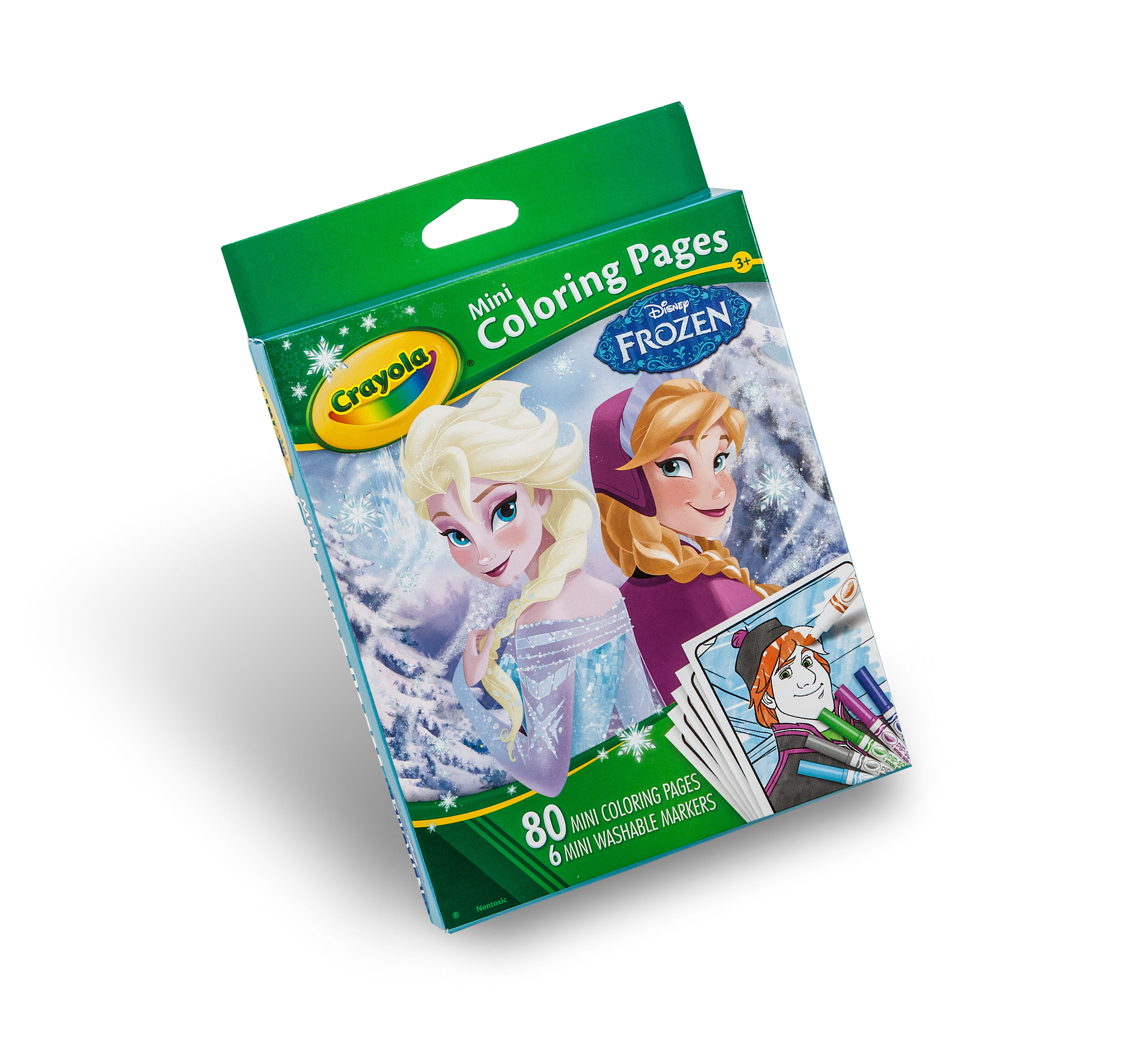 Crayola Mini Coloring Pages Frozen : Disney princess mini coloring pages