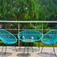 Garden bench Arthur blue PATIO