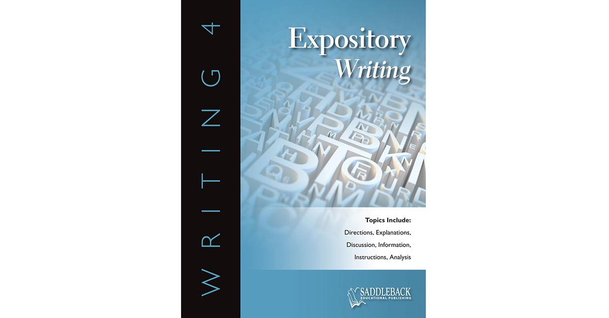 Expository Writing Reproducible Book With Cd Sdl0253