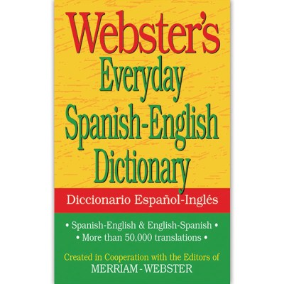 Websters Everyday Spanish English Dictionary - FSP9781596951174 | Federal Street Press ...