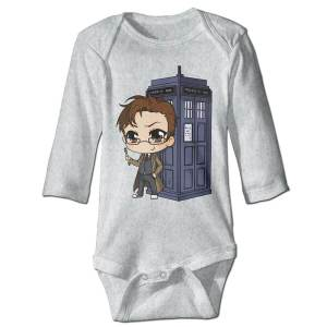 Doctor Who Newborn Baby Sleeping Suit