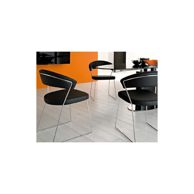 Sedia New York Calligaris Connubia Cb1022 Sk - Sedia Elettrica New York