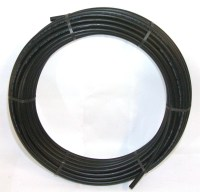 20mm MDPE Pipe 50m-Coil Black   E J Woollard