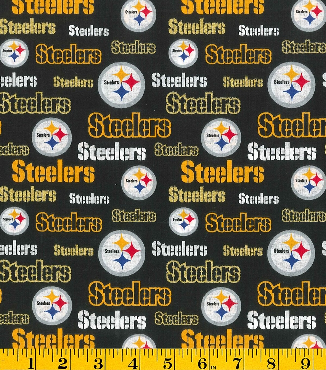 Pittsburgh Steelers Wallpaper Hd Cotton Pittsburgh Steelers Glitter Nfl Pro Football Cotton