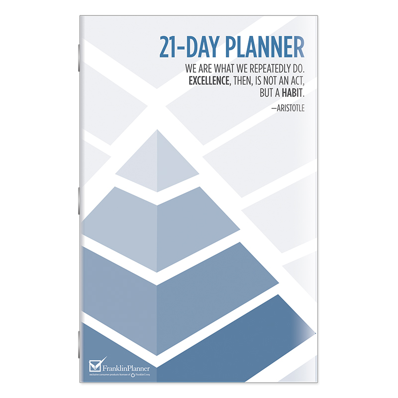 21-Day Planner - FranklinCovey - day planner