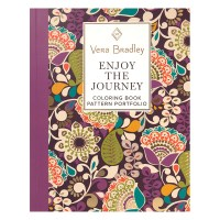 Vera Bradley Enjoy the Journey Coloring Book - FranklinCovey