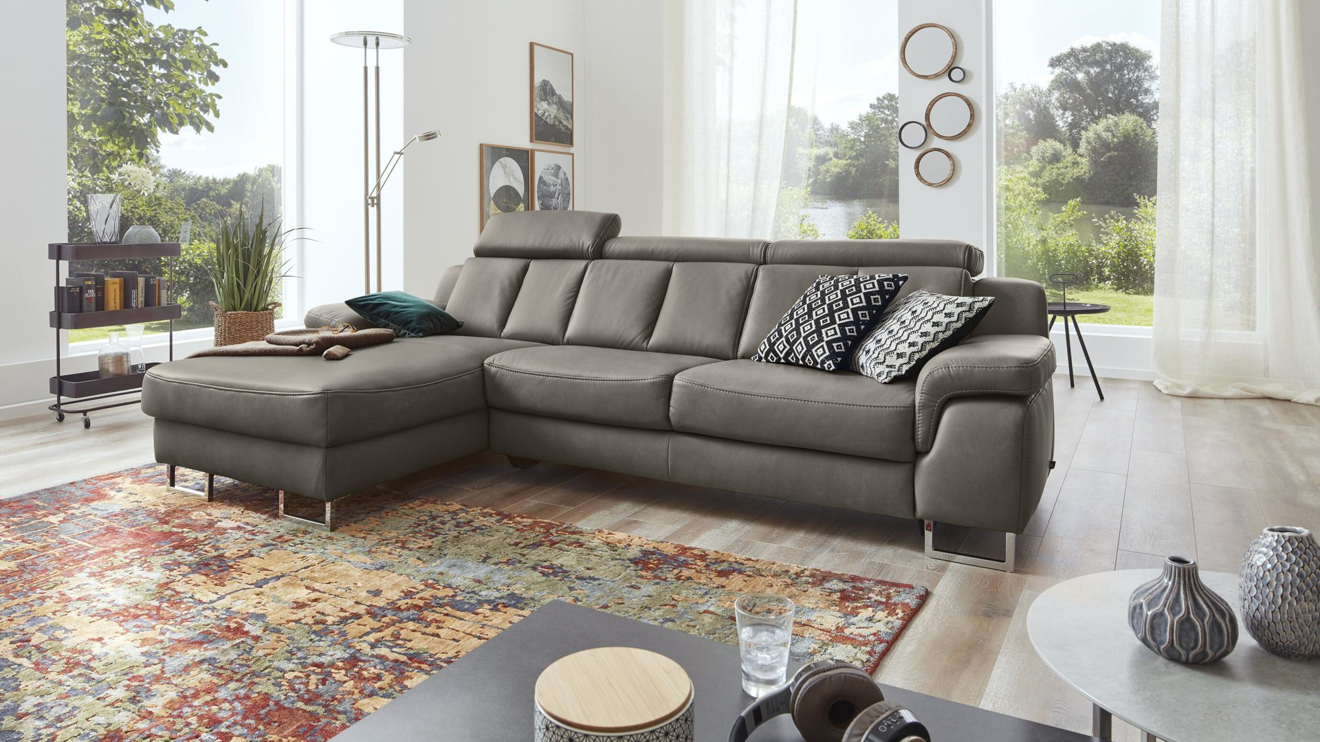 Sofa Füße Chrom Möbel Frauendorfer Amberg Highlight Interliving Interliving