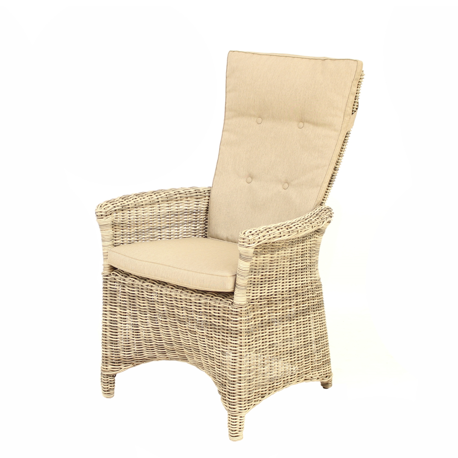 Sessel Ohio Move Sand Inkl Kissen Sessel Verstellbar - Polyrattan Sessel Verstellbar