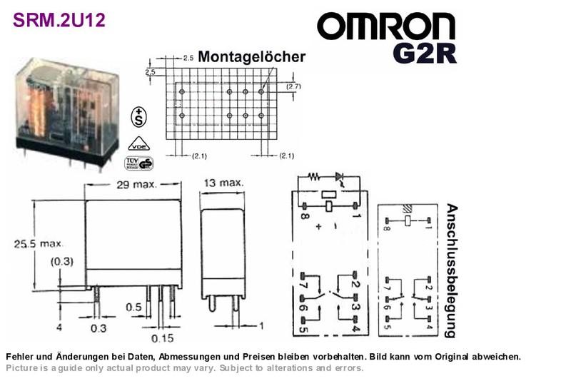 terminal relay omron